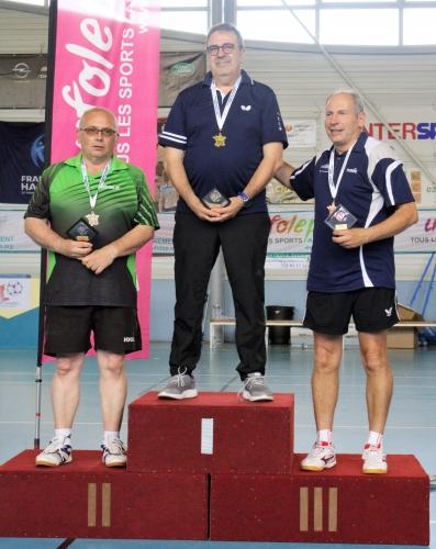 Nationaux A, podium C01 Thierry (St Julien du Sault)