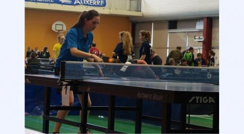 Ophélie, nationaux B à Auxerre en 2016