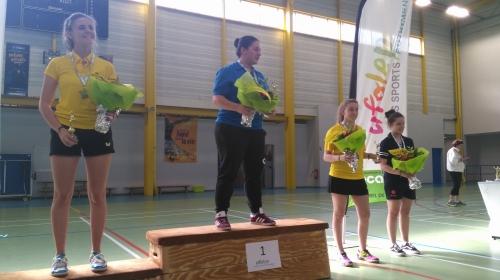 Jesabelle, 1ère Juniors dames nationaux A 2018