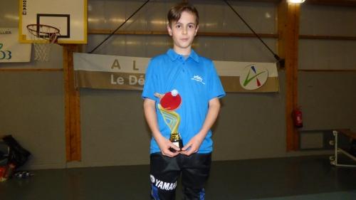 Trystan, plus jeune joueur aux 12h 2018