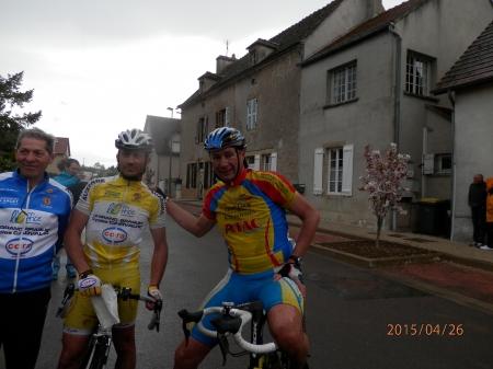 Francis Heurley et Valéry Guichard