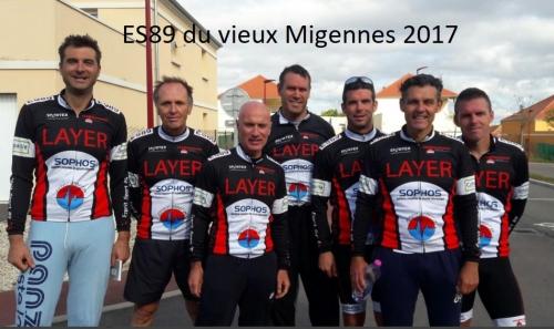 ES89 équipe jeune au vieux Migennes