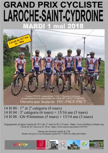 E course Laroche mardi 1 er mai 2018