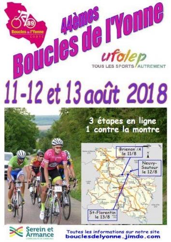 Gf  Les boucles de l'Yonne  11-12-13 Août