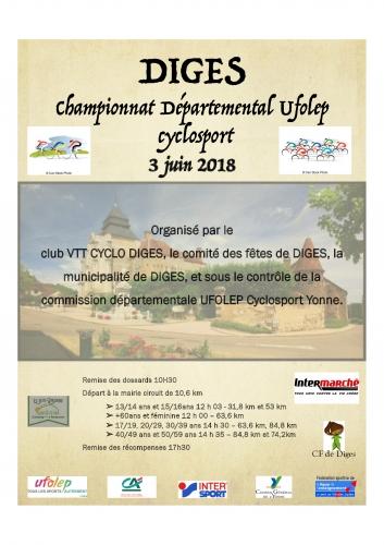 Gd Championnat départemental 3 juin 2018