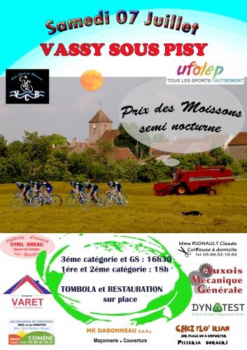 H course de Vassy  samedi 7 juillet 2018